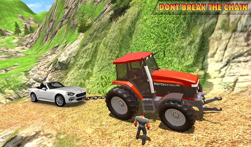 Tractor Pull Simulator Drive: Tractor Game 2020 screenshot 9