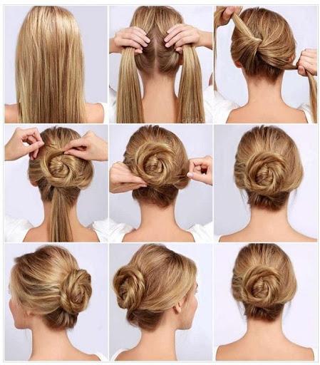 خطوة خطوة الشعر (أنثى) 1 تصوير الشاشة