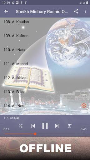 Mishary Full Offline Quran MP3 screenshot 13