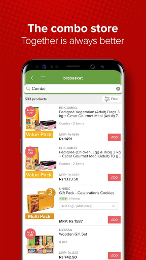 bigbasket - Online Grocery Shopping App скриншот 8