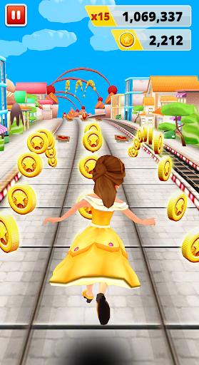 Princess Run Game 1 تصوير الشاشة