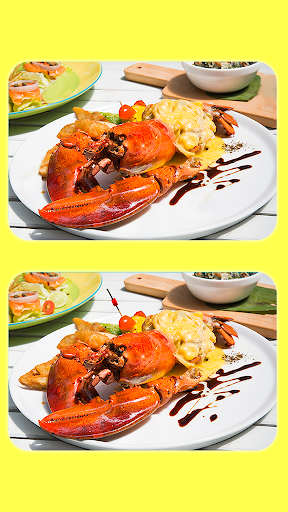 Find The Difference - Delicious Food Pictures screenshot 3