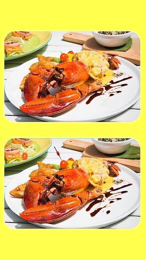 البحث عن 5 الاختلافات - صور الطعام اللذيذ 3 3 تصوير الشاشة