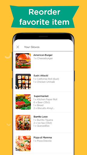Glovo: Order Anything. Food Delivery and Much More screenshot 7