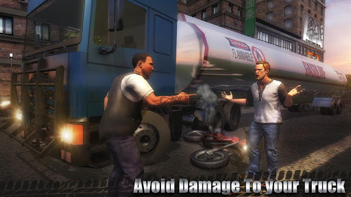 石油貨物輸送トラック screenshot 3