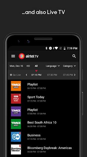 Airtel TV screenshot 4