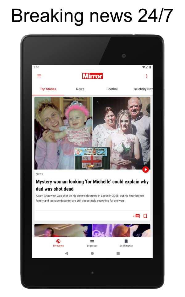The Mirror App: Daily News screenshot 9