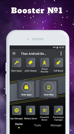 Titan Booster - Instantly Speed Up Your Phone screenshot 1