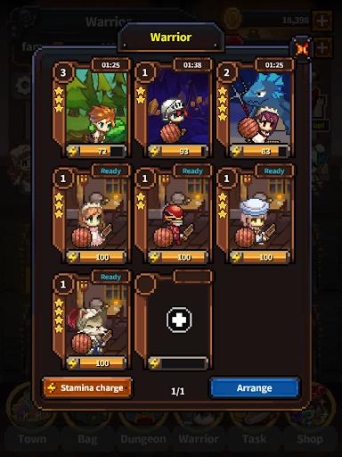 Warriors' Market Mayhem VIP : Offline Retro RPG screenshot 8
