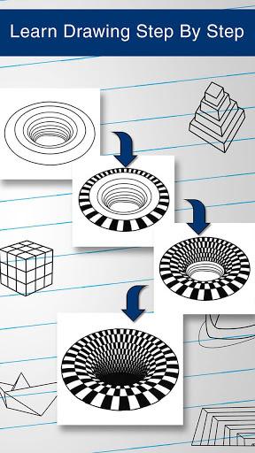 How to Draw 3D 4 تصوير الشاشة