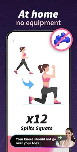 Buttocks Workout - Hips, Legs & Butt Workout screenshot 2