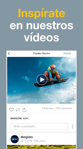 Magisto: Creador y Editor de Vídeos y Diapositivas screenshot 8