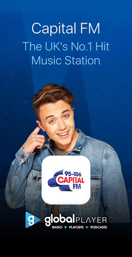 Capital FM Radio App 1 تصوير الشاشة