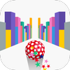 Roll It Up Catch It Up - Jumping Rolling Ball Race أيقونة