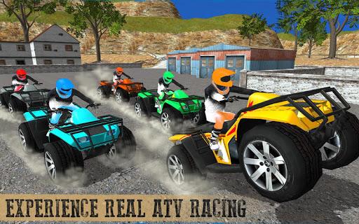 Offroad ATV quad bike racing sim: Bike racing game screenshot 12