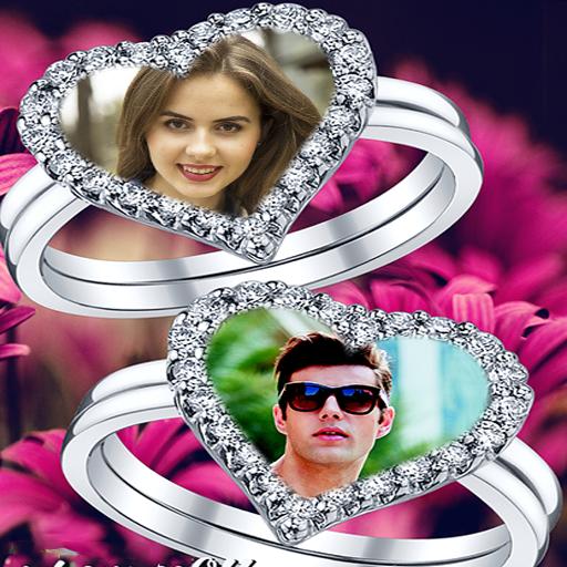 Lovely Ring Photo Frames أيقونة