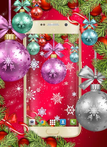Christmas Wallpapers 🎅 Xmas Tree Live Wallpaper 1 تصوير الشاشة