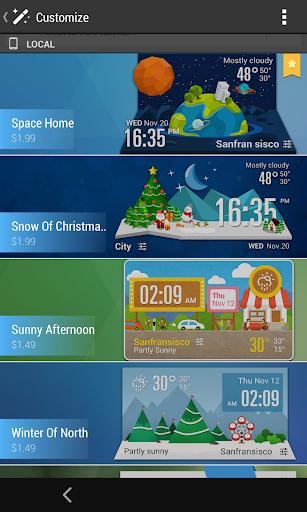 Z Style Weather Widget 7 تصوير الشاشة