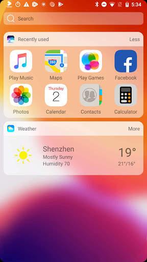 iLauncher X - new iOS theme for iphone launcher screenshot 6