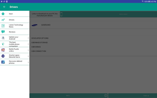 USB Driver for Android Devices screenshot 13