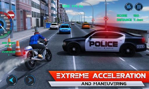 Moto Traffic Race 1 تصوير الشاشة