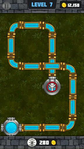 Plumber: Water Pipe Puzzle 7 تصوير الشاشة