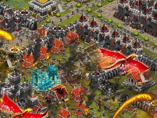 Throne Rush 5 تصوير الشاشة