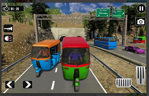 Tuk Tuk Rickshaw: Free Driving Games screenshot 6