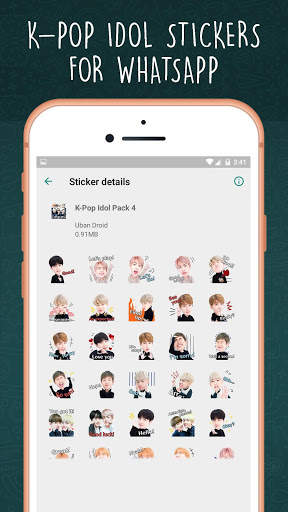 K-Pop Idol WAStickerapps screenshot 5