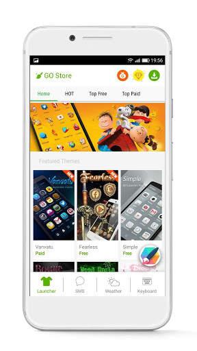 GO Launcher - 3D parallax Themes & HD Wallpapers screenshot 6