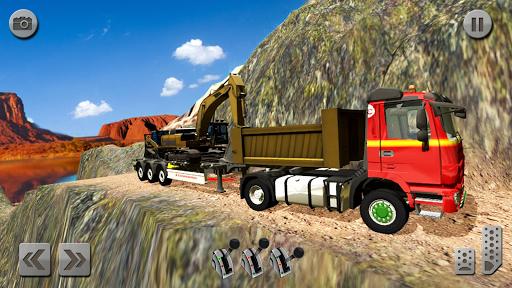 Sand Excavator Simulator 2021: Truck Driving Games screenshot 5