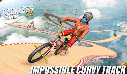 Reckless Rider- Extreme Stunts Race Free Game 2020 screenshot 3