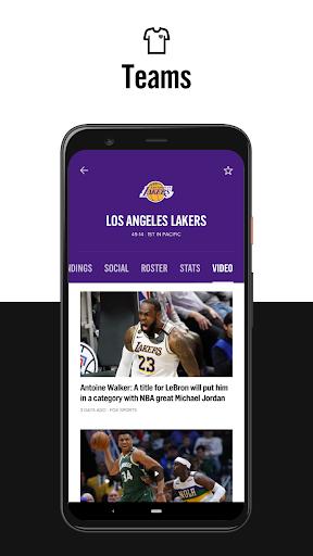 FOX Sports: Latest Stories, Scores & Events 5 تصوير الشاشة