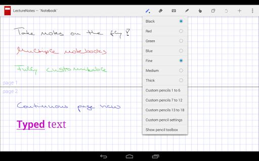 LectureNotes (Trial Version) screenshot 2