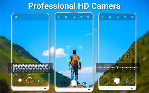 HD Camera Pro & Selfie Camera screenshot 1