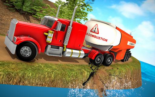 Oil Tanker Truck Driver 3D - Free Truck Games 2020 screenshot 7