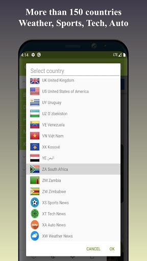 World Newspapers – Local News & International News screenshot 4