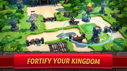 Royal Revolt 2: إمبراطورية RPG - حرب جيش تصادم 3 تصوير الشاشة