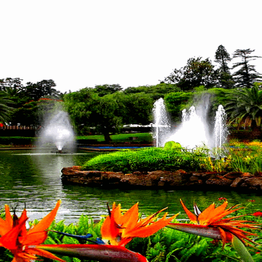 Park Fountains LWP icon