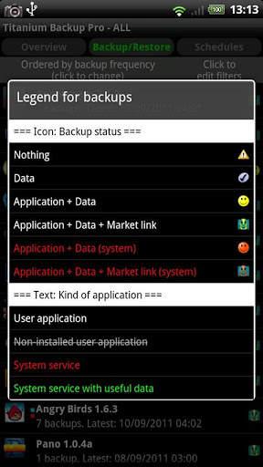 Titanium Backup ★ root needed screenshot 4