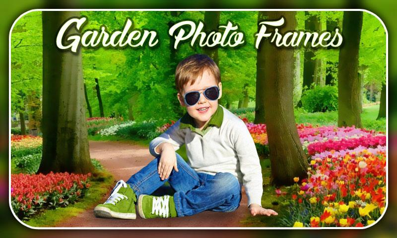 Garden Photo Frames Editor 2018 screenshot 4