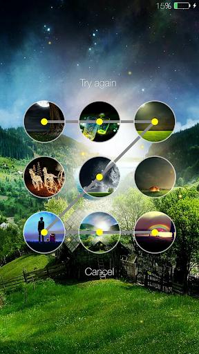 Fireflies lockscreen 4 تصوير الشاشة