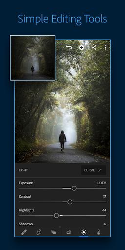 Adobe Lightroom - Photo Editor & Pro Camera 1 تصوير الشاشة