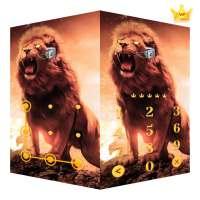 AppLock Live Theme Lion – Paid Theme on 9Apps