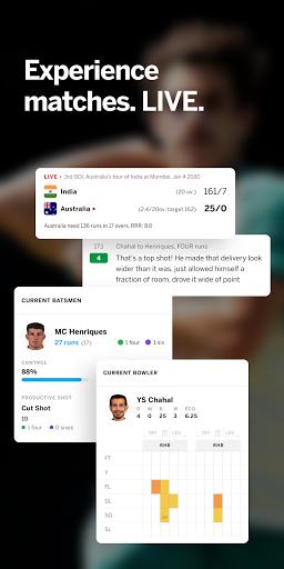 ESPNCricinfo - Live Cricket Scores, News & Videos screenshot 2