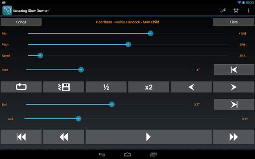 Amazing Slow Downer Lite screenshot 7