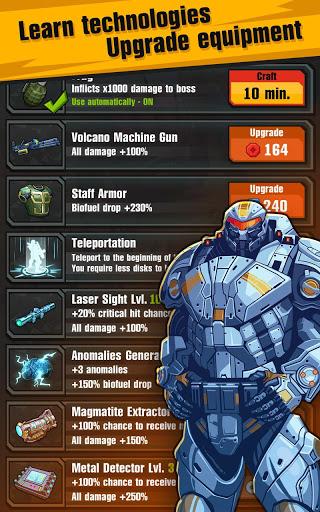 Сlicker idle game: Evolution Heroes स्क्रीनशॉट 5