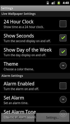 Alarm Clock Wallpaper screenshot 2