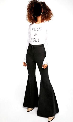 Girls Jeans Photo Suit screenshot 10