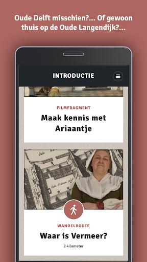 Wandelroute 'Waar is Vermeer?' screenshot 2